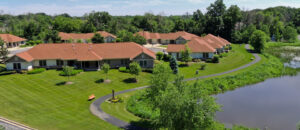 Evergreen Senior Living | The Oaks at Bartlett Apartments