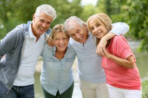 Evergreen Senior Living | Seniors outdoors