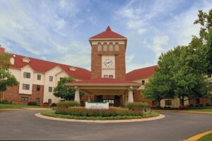 ER Senior Management | Robin Run's Entrance