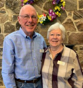 Evergreen Senior Living   Residents Robbie and Sara Campbell