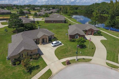 Meadow Lake | Aerial View of Homes
